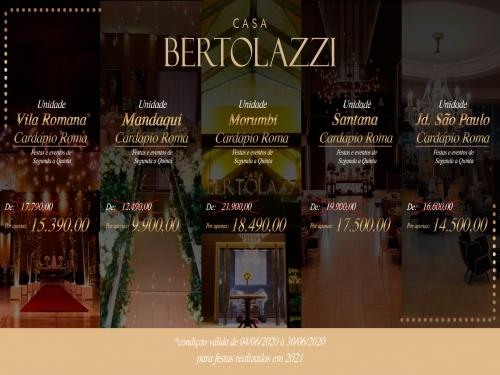 Promoção mês de julho Casa Bertolazzi